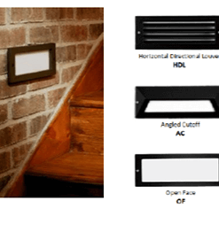 INTRIGUE LIGHTING - Outdoor Step Light Image
