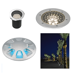 LUMASCAPE LIGHTING - Outdoor In-Grade Image