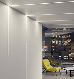 LUMENWERX LIGHTING - Recessed Linear Image