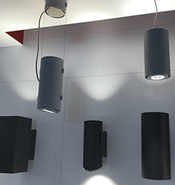 LUMINIS LIGHTING - Outdoor Cylinder Image