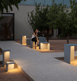 VIBIA LIGHTING - Outdoor Bollard Image